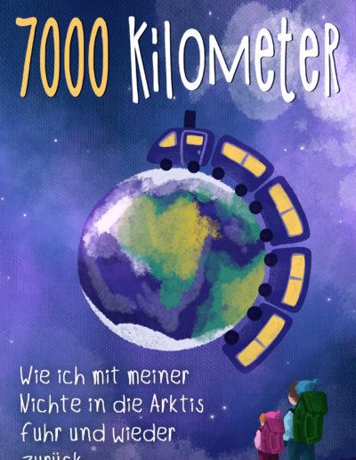 eBook Cover mit Zeichnung